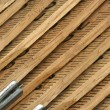 Carpenters folding ruler background — Stockfoto