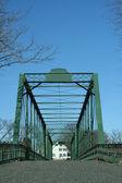 Old metal bridge — Stock Photo