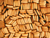 Popsicle sticks macro background — Stock Photo