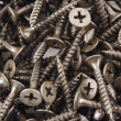 Royalty-Free Stock Photo: Black Screws background texture