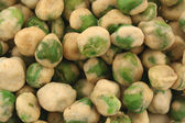 Green Wasabi Peas background Texture — Stock Photo