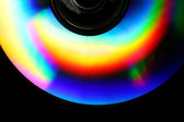 CD Rainbow Background — Stock Photo