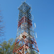 Radio antenna tower — Stock Photo #2081203