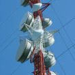 Microwave tower — Stock Photo