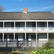 Revolutionary war Historic house — Stock Photo