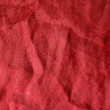 Crinkled Red Satin Background texture — Stock Photo