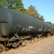 Royalty-Free Stock Photo: Tanker Train Car