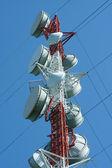 микроволновая башня — Стоковое фото