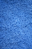 Blue Terry cloth background texture — Stock Photo