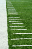 Football Yard Markers — Stock Photo