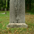 Old Gravestone - Stock Photo