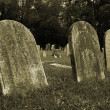 Old Gravestones - Stock Photo