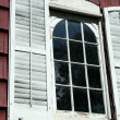 Stock Photo: Old window shutters