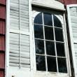 Old window shutters — Stock Photo