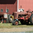 Old red tractors — Stock Photo #2102768