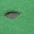 miniture golf hole — Stockfoto