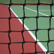 Tennis Court Net — Stock Photo