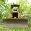 Yellow bulldozer — Stock Photo #2105787