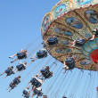 Amusement swing ride — Stock Photo