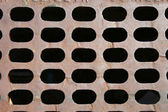 Sewer grate background — Stock Photo