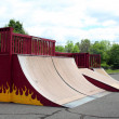 Skateboard Park Ramps — Stock Photo