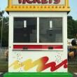 Stock Photo: Carnival Ticket stand sign