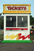 Carnival Ticket stand sign — Stock Photo