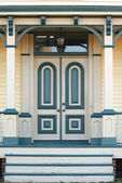 Old house doorway — Stock Photo