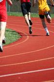 Track runner — Stock Photo