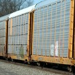 Train cars — Stock Photo