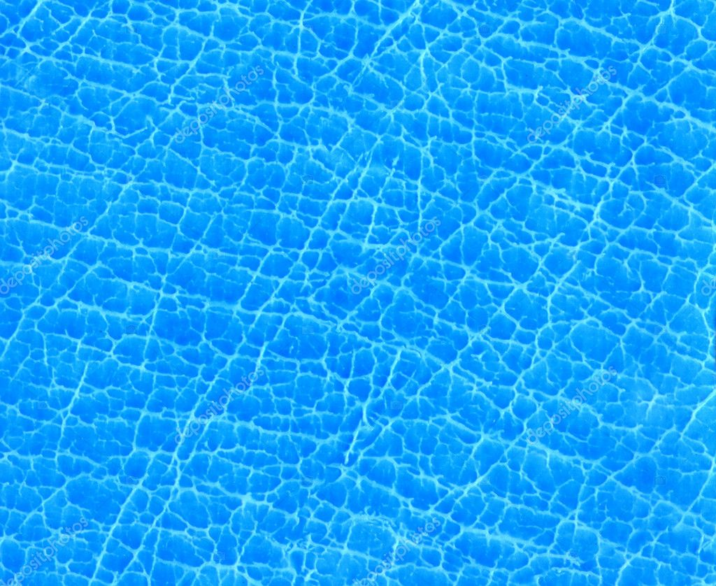 Texture blue skin or transparency water  Stock Photo #2518254