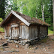 Stock Photo: Lapland hut