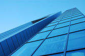 Blue Glass Building — Stock Photo