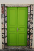 Whimsical door — Stock Photo
