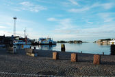 Helsinki port — 图库照片