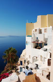 Santorini Houses — Stock Photo