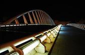 Puente iluminado — Foto de Stock