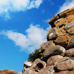 The wall of Korela fortress — Stock Photo #2199145