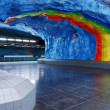 Stockholm metro — Stock Photo #2585060