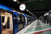 Swedish metro — Stock Photo