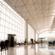 Hall of Hong Kong International Airport — Stock Photo