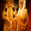 Statue of Chinese opera — Stock Photo