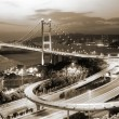 Tsing Ma Bridge in Hong Kong — Stock Photo #2018663