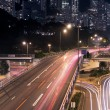 skyline van hong kong — Stockfoto