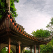 Chinese style building in the garden — Stok fotoğraf