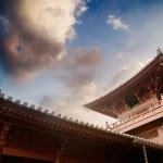 Beautiful Chinese temple — Stock Photo