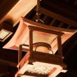 Chinese traditional wooden lamp — Foto de Stock