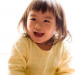 Happy Asian girl with smile — Stock Photo
