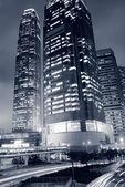 Paisaje urbano de hong kong — Foto de Stock