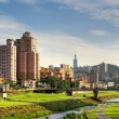 Stock Photo: Suburb cityscape of Taipei